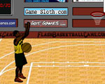 Flash Basketball Game -