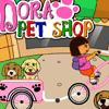 Dora Pet Shop - Cartoon Games, Driving Games, Girl Games