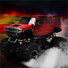 Red Hot Monster Truck - Truck Games