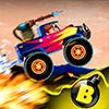 Crazy Monster Wheels - Crazy Monster Truck Games